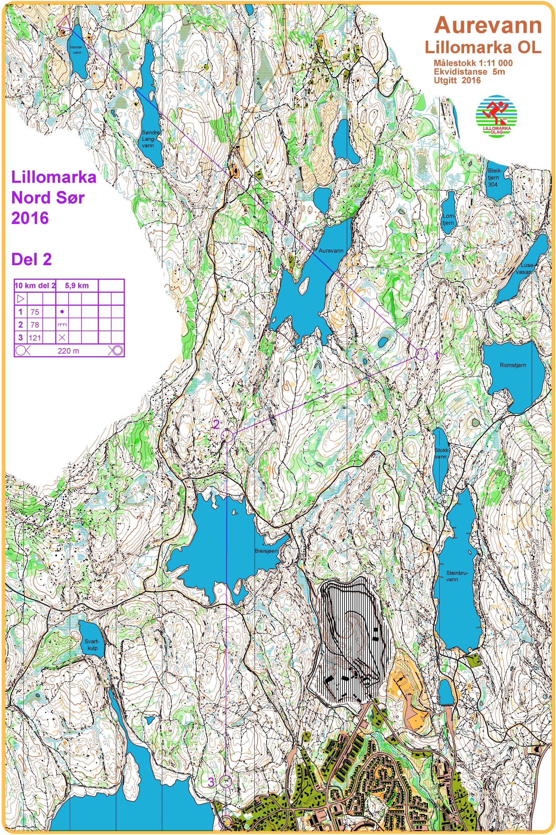 kart lillomarka Eventor   Arrangementsinformasjon: Lillomarka Nord Sør kart lillomarka